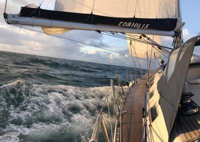 Coriolis returning from Rockall