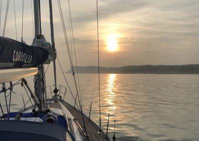 Sunrise Fair Head over Antrim